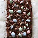 Brownie de primavera   Pimienta y Purpurina