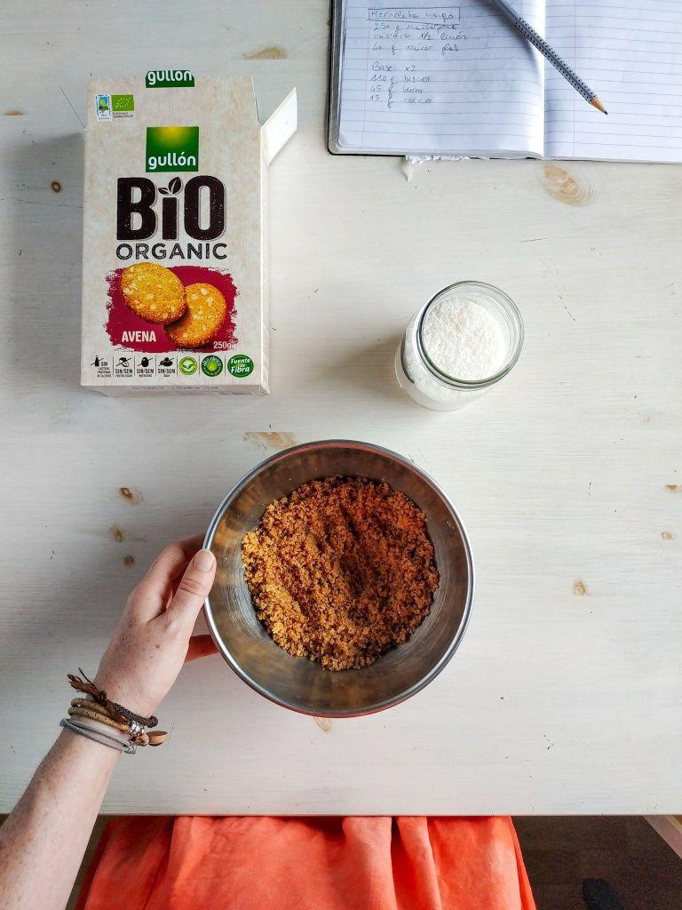 Cheesecake de mango y mascarpone, sin horno | Pimienta y Purpurina