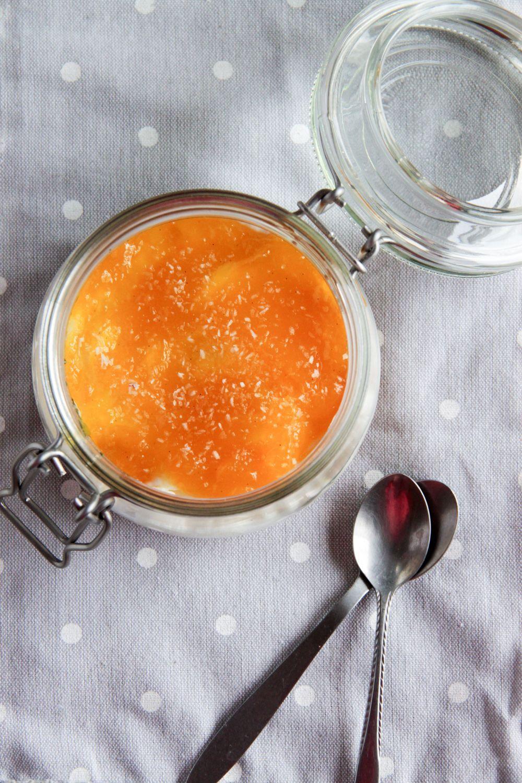Cheesecake de mango y mascarpone, sin horno   Pimienta y Purpurina