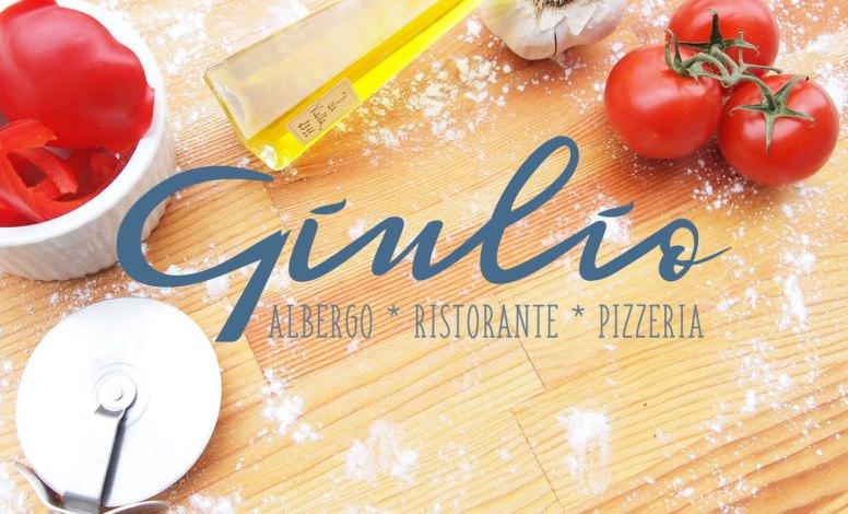 Restyling logo per Albergo Ristorante Pizzeria Giulio