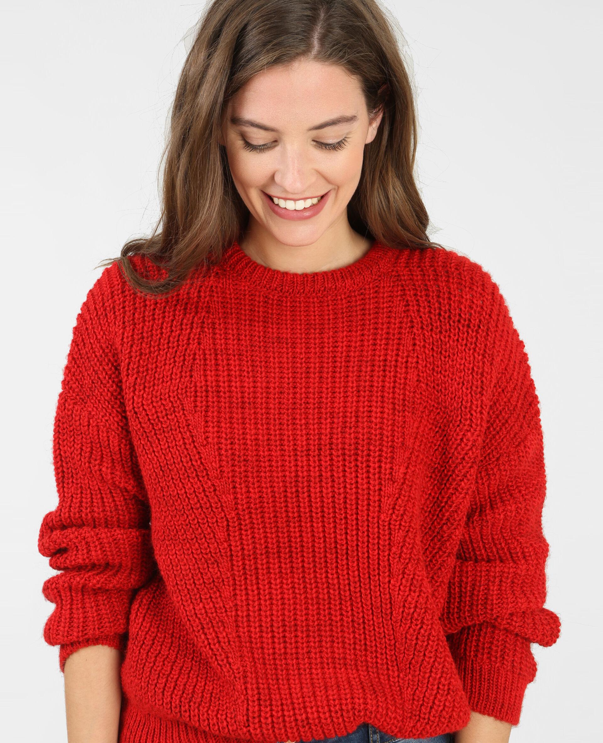Résultats de recherche d'images pour «pull rouge pimkie»