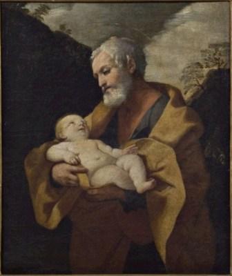 Guido Reni (bottega di), San Giuseppe col Bambino