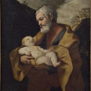Guido Reni, scuola di (sec. XVII), San Giuseppe col Bambino
