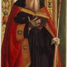 Marco Palmezzano (Forlì, 1459 - 1539), Sant'Agostino
