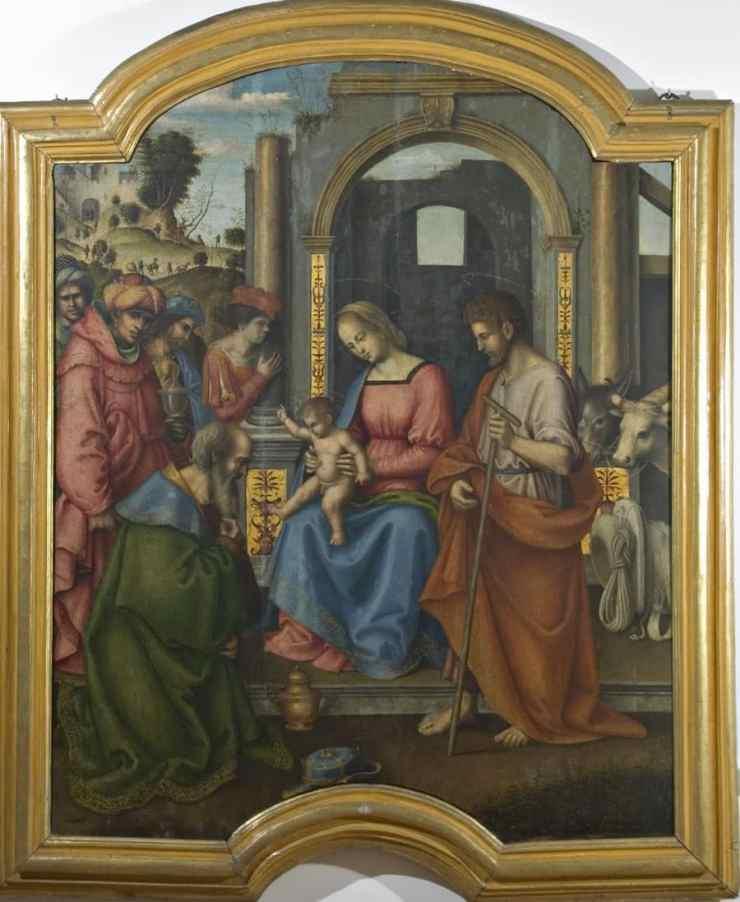 Giovanni Battista Bertucci sr., Adoration of the Magi