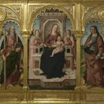 Biagio d'Antonio, Madonna col Bambino, Angeli e i SS. Domenico, Andrea, Giovanni Evangelista e Tommaso d'Aquino