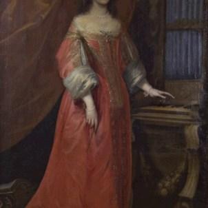 Giovanni Bernardo Carbone, attr. (Genova, 1614 - 1683), Ritratto di fanciulla