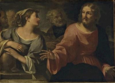 Anonimo Bolognese, Cristo e la samaritana