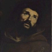 Guido Cagnacci, attr. (Santarcangelo di Romagna, 1601 - Vienna, 1663), San Francesco