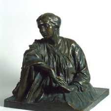 Domenico Baccarini (Faenza, 1882 - 1907), La Bitta con le mani incrociate