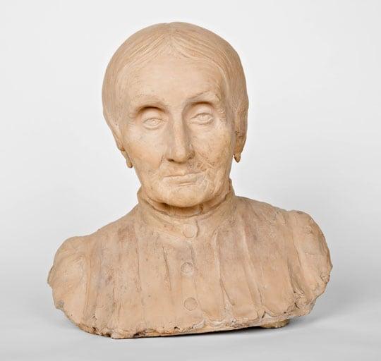 Domenico Baccarini, Busto della nonna (Maria Liverani)
