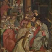 Marco Marchetti (Faenza, 1528 ca. - 1588), Cristo in casa del fariseo