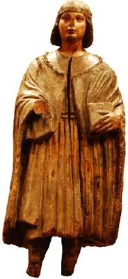 Maniera del Maestro di San Terenzio (sec. XV), San Sigismondo (?)