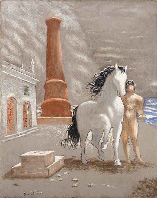 Giorgio De Chirico, The Shores of Tessaglia