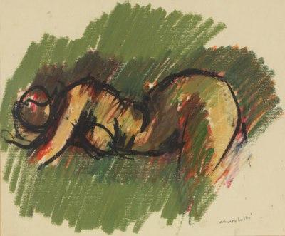 Ennio Morlotti, Nudo