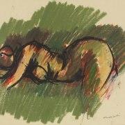 Ennio Morlotti (Lecco, 1910 - Milano, 1992), Nudo