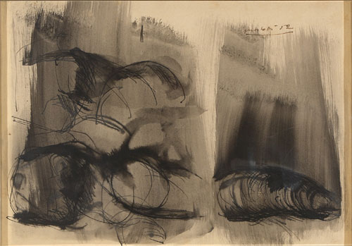 Ennio Morlotti, Senza titolo, 1952