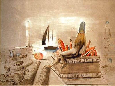 Sergio Vacchi, Senza titolo, 1977, Olio su tela, 98x69