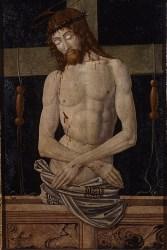 Maestro della pala Bertoni, Cristo in pietà
