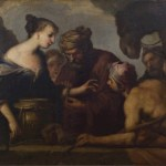 Antonio Zanchi (?), Rebecca al pozzo