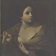 Anonimo bolognese (sec. XVII), Cleopatra porta l'aspide al petto
