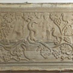 Anonimo bizantino- ravennate Sec. VI, Pluteo raffigurante il Peccato originale