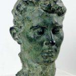 Auguste Rodin, Ritratto della moglie Rose Beuret