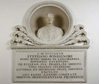 Bottega dei Ballanti Graziani (?), Monumento onorario al Vescovo Stefano Bonsignori