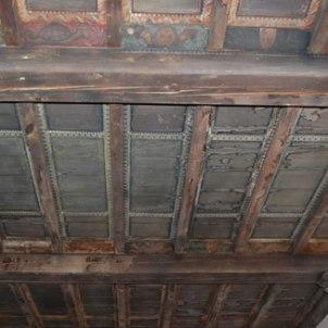 Artigianato faentino (sec. XV), Soffitto dipinto