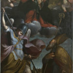 Benedetto Marini, Madonna col Bambino, S.Michele Arcangelo e un S.Vescovo