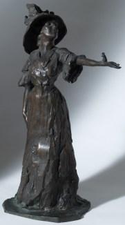 LIBERO ANDREOTTI (1875 – 1933) La Signora Dudovich con lo scoiattolo