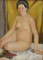 FRANCO GENTILINI (1909 – 1981) Nudo femminile accosciato