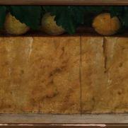 ANONIMO LOMBARDO (secolo XIX) Parmigiano e limoni Olio su tavola, cm 28 x 54 Collezione privata