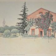 Ingresso al Museo Internazionale delle Ceramiche, Faenza. 1941-2.