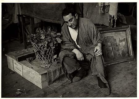 Ritratto fotografico di Mario Mafai