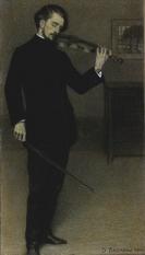 Il violinista, 1905