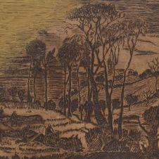 Arturo Martini (Treviso, 1889 - Milano, 1947), Paesaggio