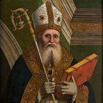 Marco Palmezzano, S. Ambrogio (?)