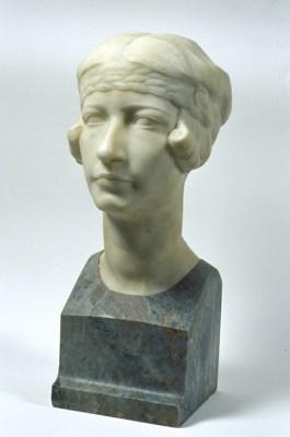 Ercole Drei, Ritratto della moglie Margherita Montanari
