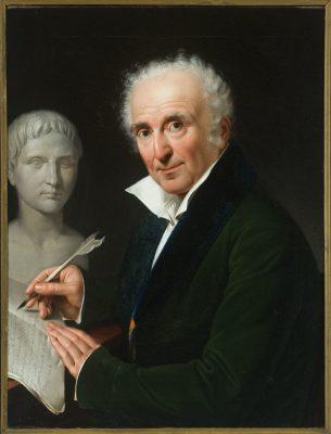 Gaspare Mattioli, Ritratto di Dionigi Strocchi