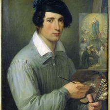 Gaspare Mattioli (Faenza, 1806 - 1843), Autoritratto