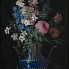 Pietro Piani (Faenza, 1770 - Bologna, 1841), Fiori in vaso