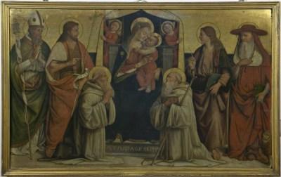 Biagio d'Antonio Tucci, Madonna col Bambino e Santi