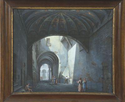 Romolo Lliverani, Faaenza: il Voltone della Molinella