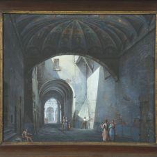 Romolo Liverani (Faenza, 1809 - 1872), Faenza: il Voltone della Molinella