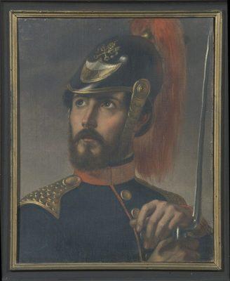 Stefano Usi, Ritratto di Federico Argnani