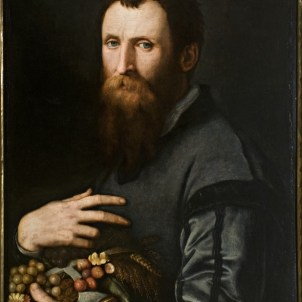Agnolo Bronzino (Firenze, 1503 – 1572), Ritratto di Luca Martini