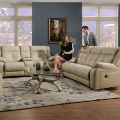 Simmons Beautyrest Reclining Sofa Corner That Turns Into A Bed Lasim50590 And Loveseat Recliners