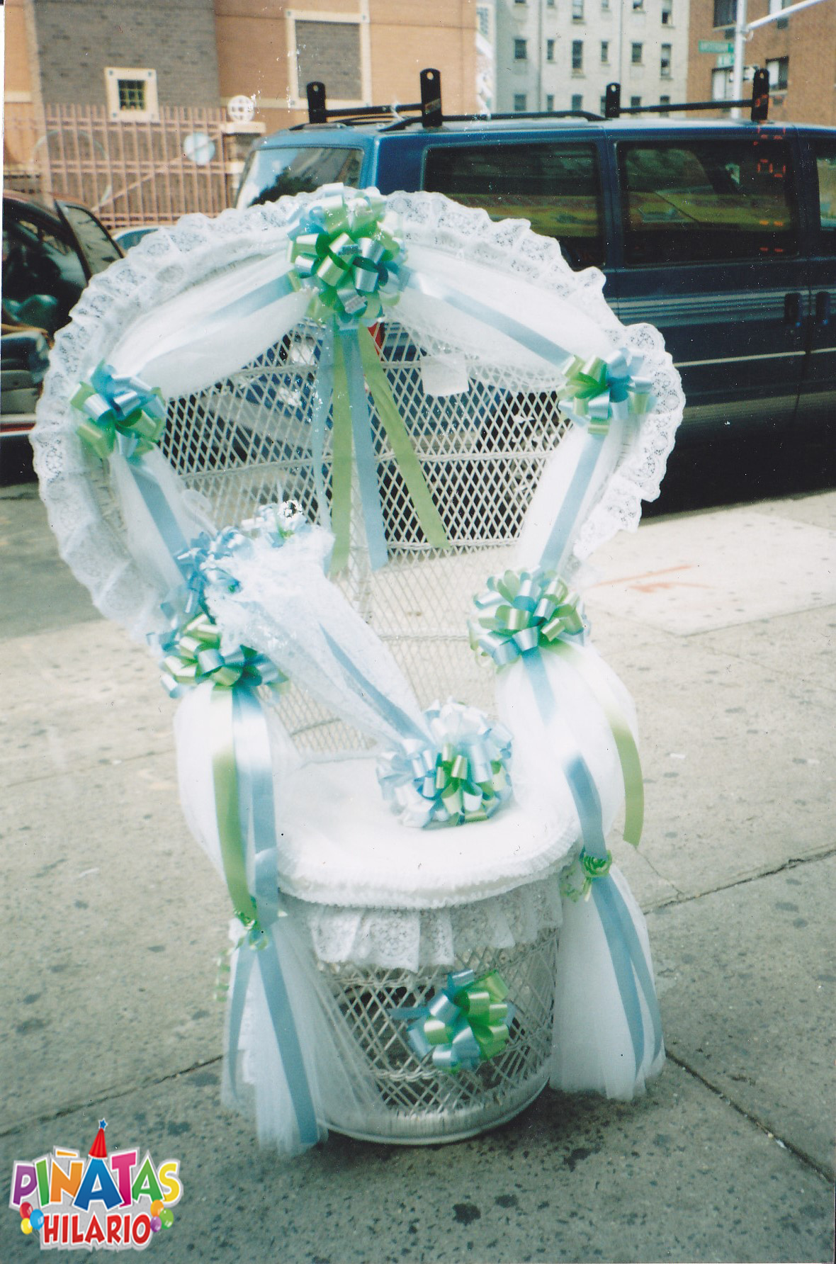 decorating chair for baby shower director covers nz decorations  pinatas hilario party supplies