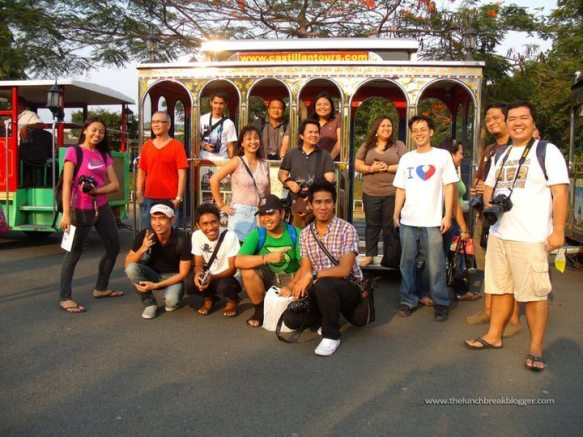 Bloggers at luneta